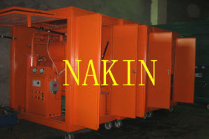 Single Vacuum Chamber Oil Filtration Equipment, Transformer Oil Filter Machine pictures & photos