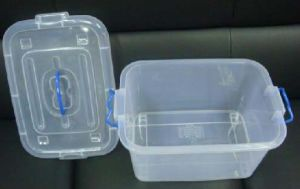 China High Quality Single Plastic Food Box (ZB-01) pictures & photos