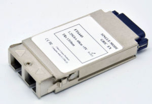 GBIC Transceiver (single mode, duplex fiber)