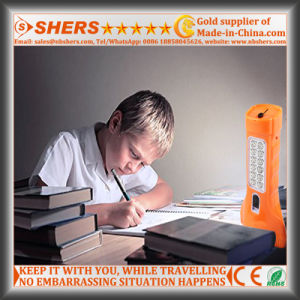 Rechargeable 1W LED Flashlight with 12PCS LED Study Lamp (SH-1912) pictures & photos