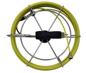 Push Rod Pipe Inspection Camera with 17mm Camera Lens, 7.0′′ LCD, 50m Testing Cable Length pictures & photos