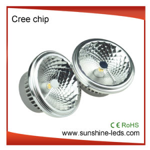 Dimmable G53/GU10 COB AR111 12W LED Spot Light pictures & photos