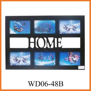 MDF Picture Frame for Home Decorative (WD06-48B) pictures & photos