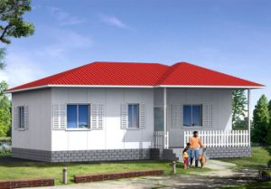 Easy to Assemble Prefabricated Light Steel Structure Residential House (KXD-pH27) pictures & photos