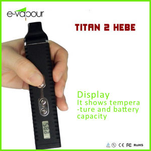 Dry Herb Vaporizer Titan 2 Kit with LCD Screen Metal Titan-II Hebe pictures & photos
