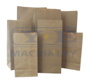 Roll Feeding Kraft Paper Bag Gluing Machine (SD-200) pictures & photos