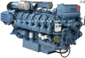 Baudouin 12m26 Marine Diesel Engine with BV/CCS (900HP~1100HP) pictures & photos