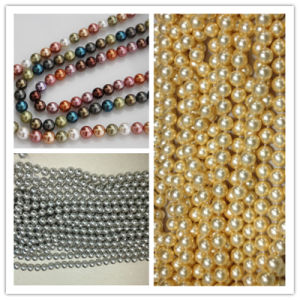 Mother of Shell Loose Pearls Size 12mm Perfect Round Shell Pearl Beads pictures & photos