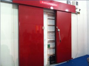 Double Sliding Door Used for Cold Room pictures & photos