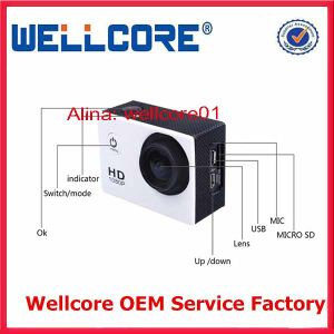 1.5 Ltps LCD Display Waterproof 30m Full HD 1080P Sport Camera Sj4000