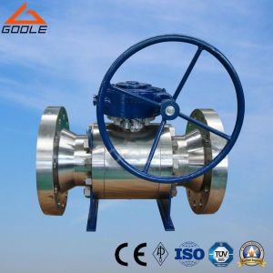 800lb-2500lb Flanged 3 PCS Forged Floating Ball Valve (Q41F/N/PEEK) pictures & photos