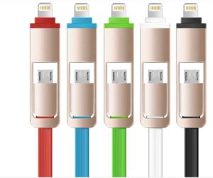 Colorful Lightning to USB Cable Adapter Data Video Cable pictures & photos