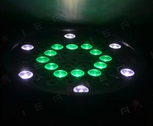 42PCS 3W RGB 3in1 Cheap Flat Plastic Stage LED PAR Can Light pictures & photos
