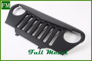 Black Angry Bird Grill for Jeep Wrangler Tj 1997-2006 pictures & photos