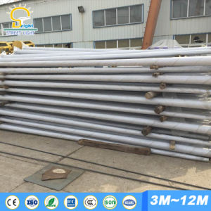 Hot Sell 8m Hot-DIP Galvanized Street Light Pole for Solar Light pictures & photos