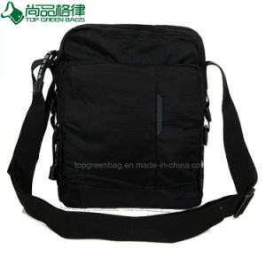 Promotion Custom Polyester Waterproof Man Shoulder Laptop Bags pictures & photos