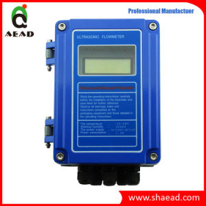 Wall-Mount Ultrasonic Water Flowmeter pictures & photos