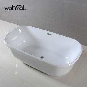 New Design Distinctive Acrylic Freestanding Soaking Bathtub pictures & photos