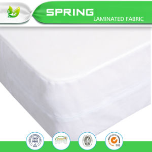 Bed Bug Dust Mite Allergy Relief Mattress Cover Blockade Mattress Cover with Allergens Breathable pictures & photos
