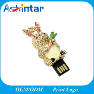Mini Metal USB Pendrive Cartoon USB Flash Drive pictures & photos