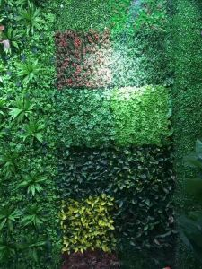 High Quality Artificial Plants and Flowers of Vertical Garden Gu20170523104729 pictures & photos