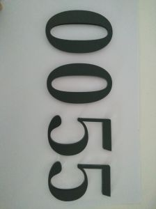 Hotel Display Room Number with Strainless Steel pictures & photos