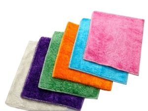 100% Bamboo Fiber Dishcloths Kitchen Dish Towels pictures & photos