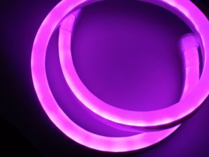 RGB LED Neon Flex Rope Light -Full RGB Color pictures & photos