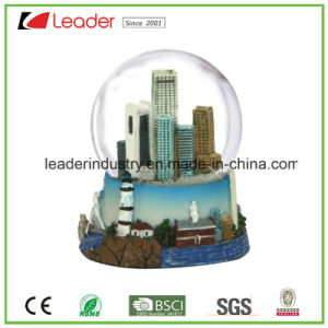 Water Globe Dome Polyresin Building Snowglobe for Home Decoration pictures & photos