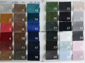 16 Wales Corduroy Made of 88%Polyester 12%Polyamide pictures & photos