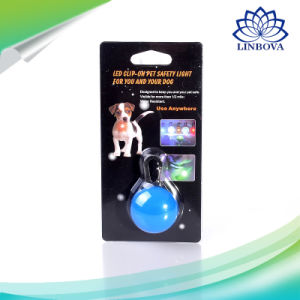 Pet Dog LED Glowing Pendant Pet Clip-on Safety Light Pet Pendant Luminous Bright Glowing in Dark pictures & photos