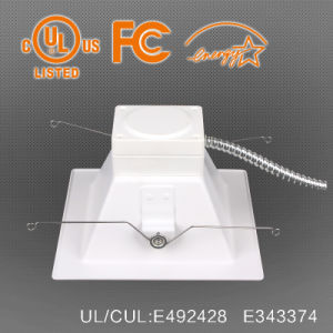 UL Es Approved 6/8 Inch LED Square Downlight, Ra80/90, 100lpw pictures & photos