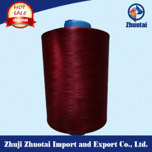 Socks Color Yarn Dope Dyed Polyester Yarn for Knitting pictures & photos