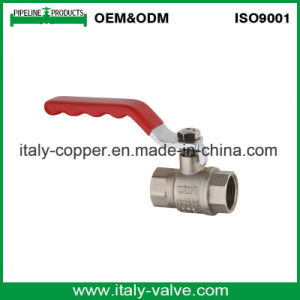 Brass Female Water Ball Valve with Corrugate Handle (AV10055) pictures & photos
