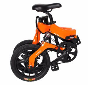 2017 City 16 Inch Mini Folding Electric Bike/Hidden Removeable Battery E Bike pictures & photos
