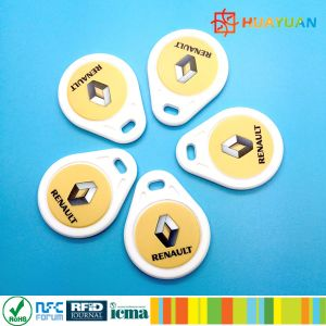 Running Number Printing MIFARE Plus S 2K ABS RFID Keychain pictures & photos