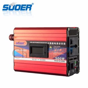 Suoer Power Supply DC to AC Power Inverter (SAA-D500A) pictures & photos