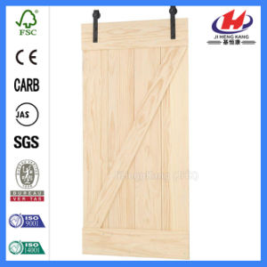Bargain Price Laminate Slab Wooden Door (JHK-SK06) pictures & photos