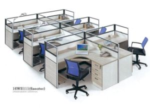 Workstations Office Partition Office Cubicle Office Interior Furniture Design pictures & photos