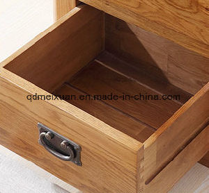 Solid Wooden Oak Wood Bedroom Furniture Cabinet 5 Lockers (M-X2481) pictures & photos