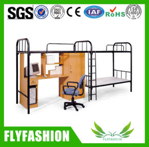 High Quality Metal Bunk Bed with Cabinet (BD-25) pictures & photos