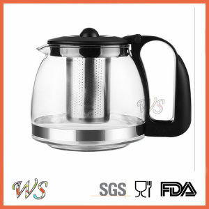 Wholesale Price Tableware Glass Tea Kettle Tea Pot and Kettle Set pictures & photos