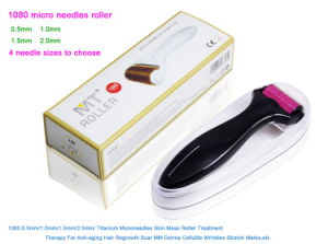 Dermaroller Mirco Needle Skin Nurse System 1080 Needles Remove Scras Microneedle Roller Skin Renewal Derma Roller pictures & photos