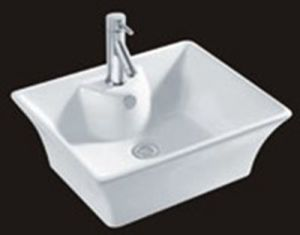 Western Design Home Use Porcelain Sinks Under Counter Basin pictures & photos