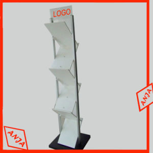 Metal Magazine Display Rack for Trade Show pictures & photos