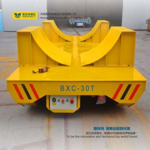 Motorized Rail Coil Cart Handing Transfer Carrier pictures & photos