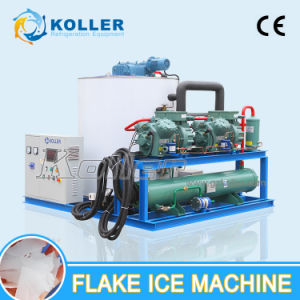 10 Tons/Day CE Approved Flake Ice Machine for Fishery/Transportation (KP100) pictures & photos