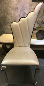 Modern Home Furniture PU Leather Dining Room Chair (B8867#) pictures & photos