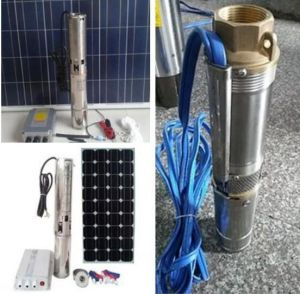 Solar Water Pump 3HP Solar Submersible Pumps pictures & photos