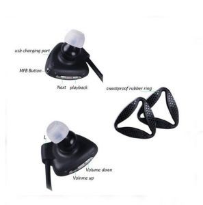 Waterproof Quick Response Voice Command Sports Bluetooth Earphone pictures & photos